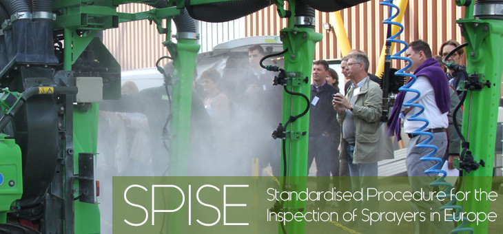 Standardized Procedure for the Inspection of Sprayers in Europe (SPISE)